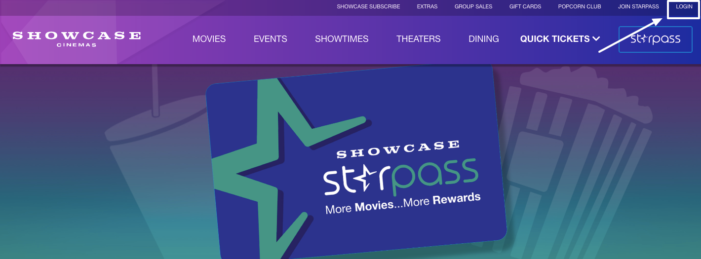 StarPass Loyalty Program login
