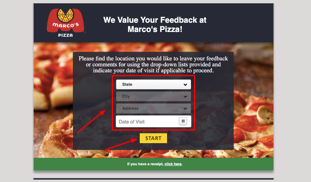 Marco's Pizza Customer Satisfaction Survey