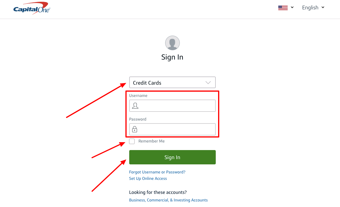 Verifying Capital One Account