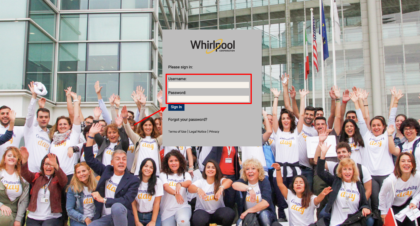 Whirlpool Employee Account login