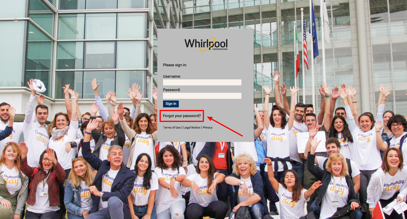 Whirlpool Employee Account