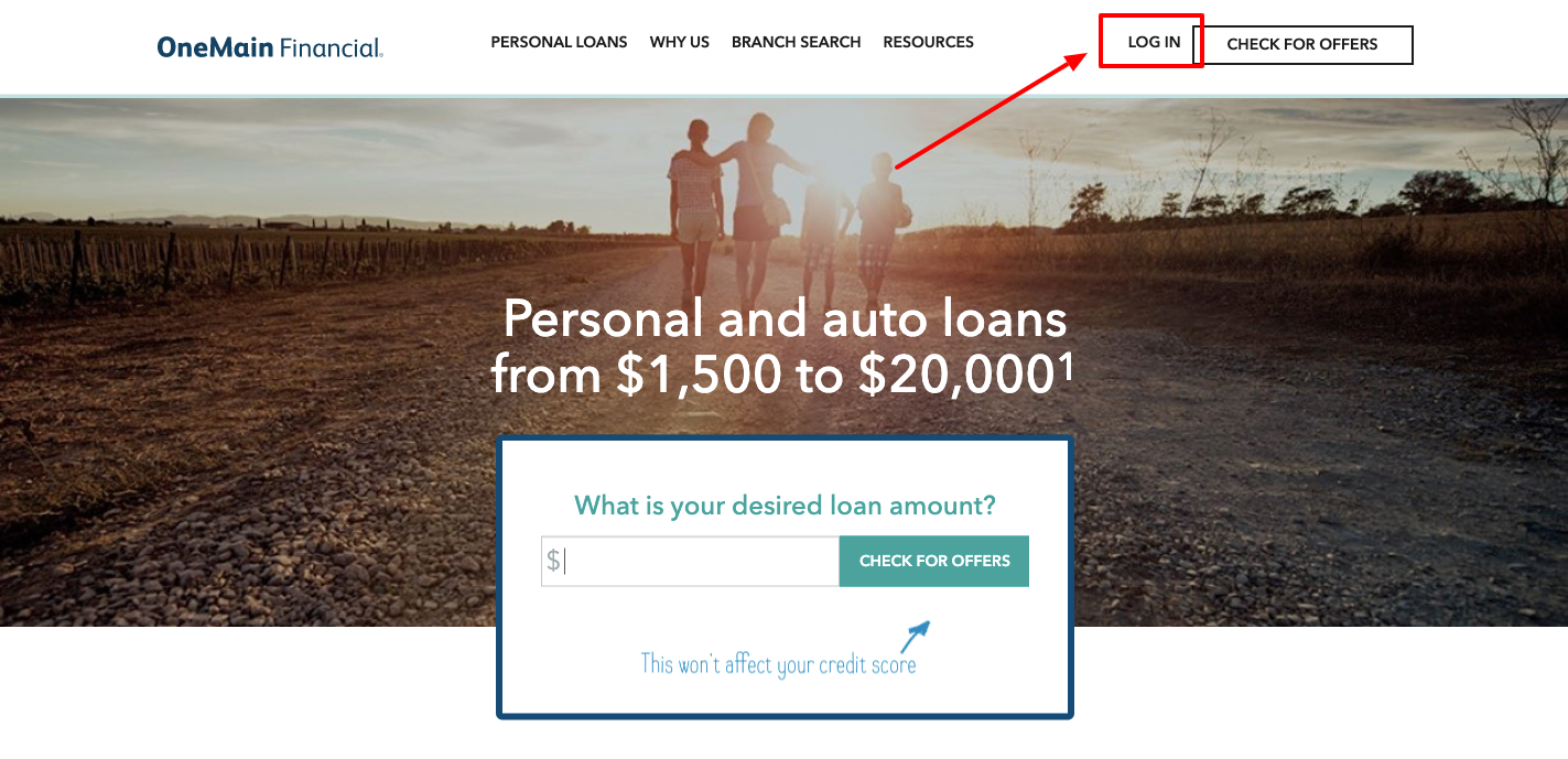 one main financial login