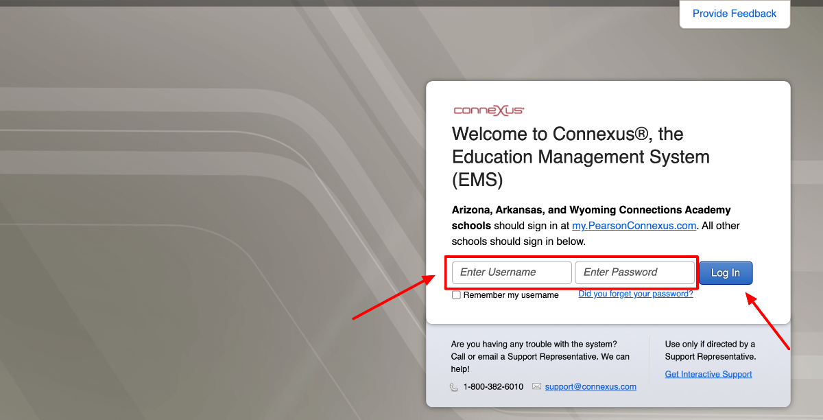 Texas Connections Login